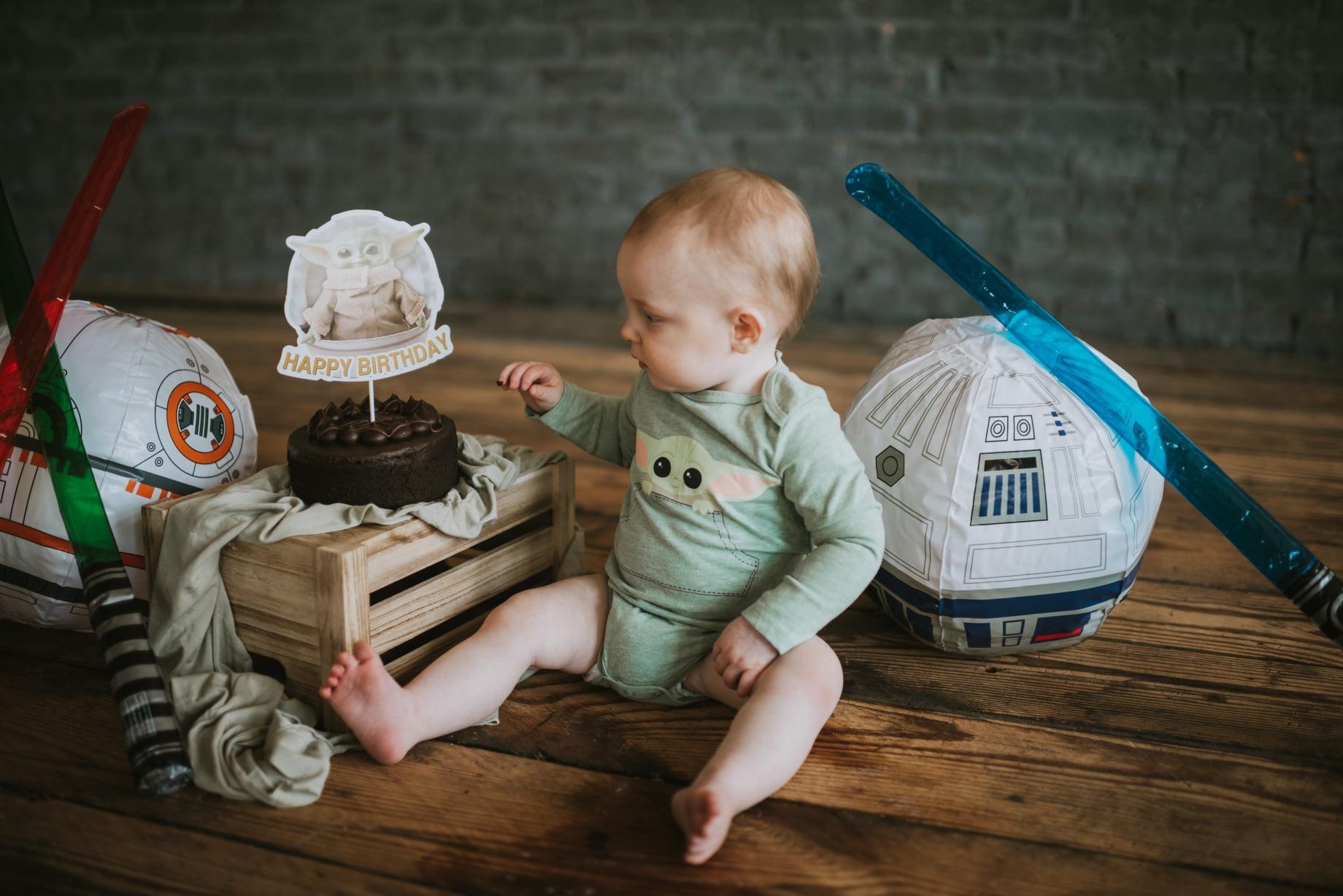 Star Wars Baby Yoda Cake Smash